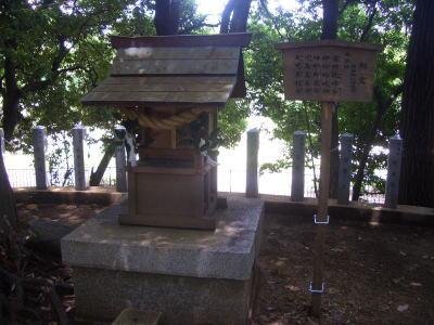 御旅所(おたびしょ)古墳の祭事の場所