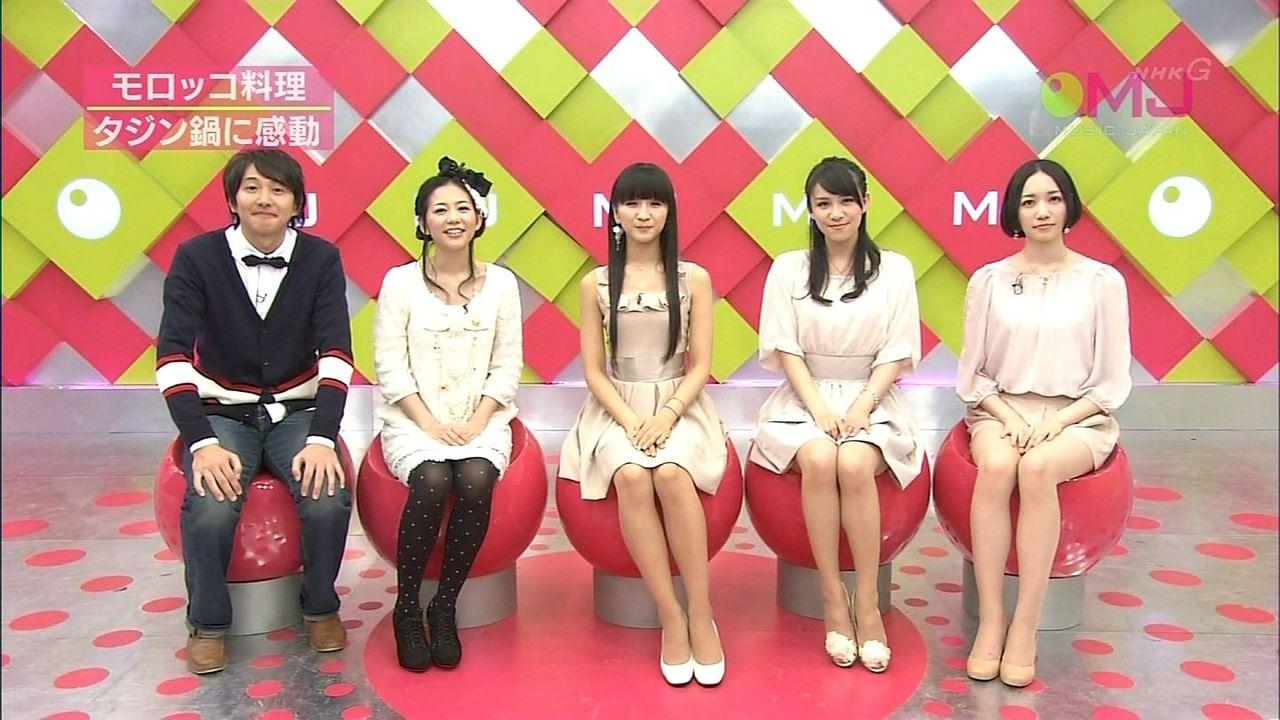キャプ茶 : Perfume MUSIC JAPAN
