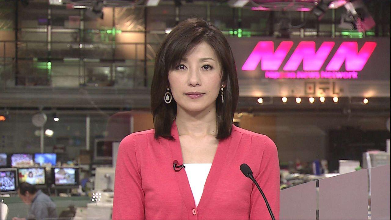 ピンクのスーツの中田有紀