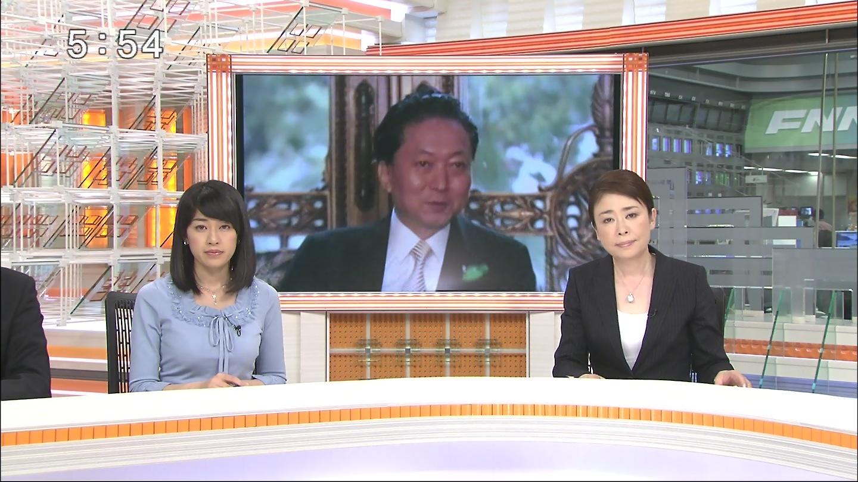キャプ茶 : 長野翼 FNNスーパーニュース 「水色翼」