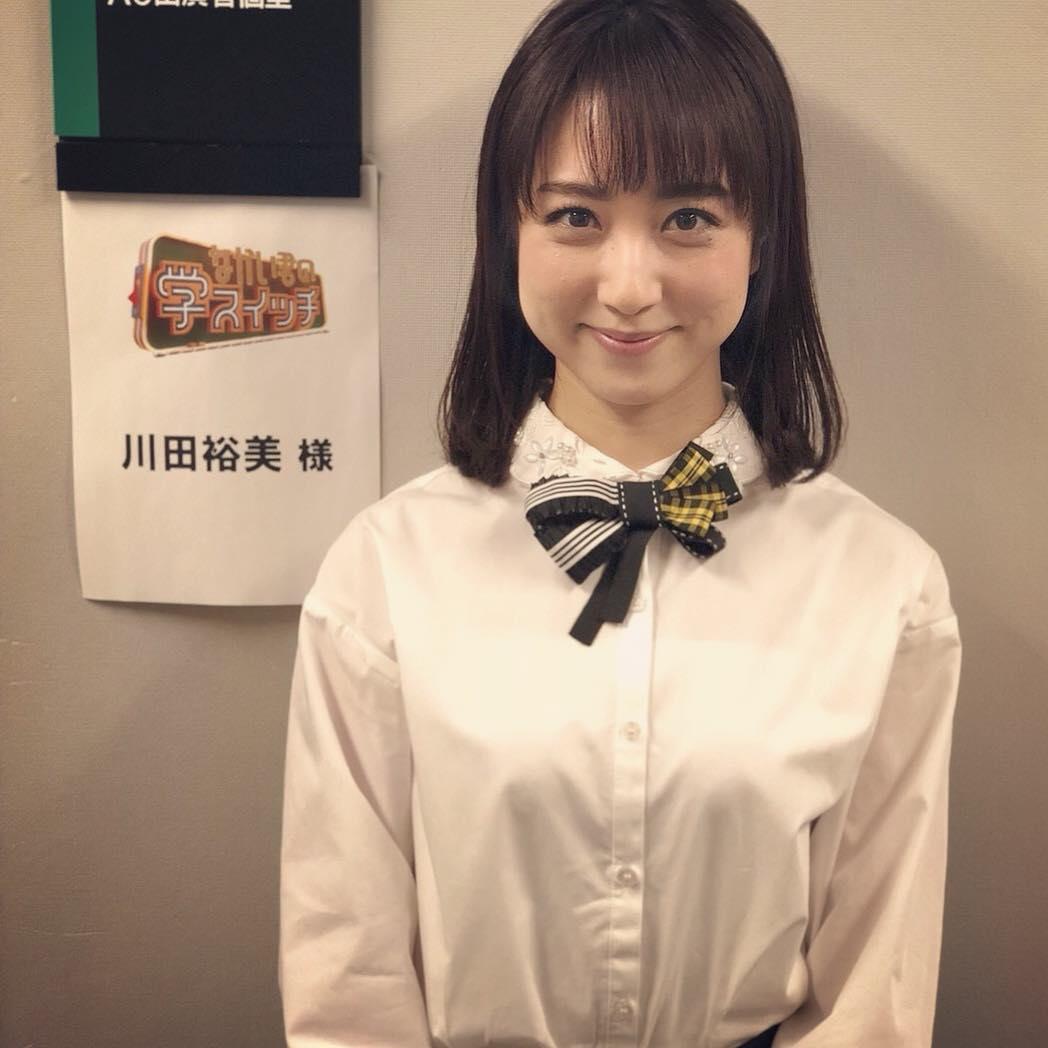 シャツ姿の川田裕美