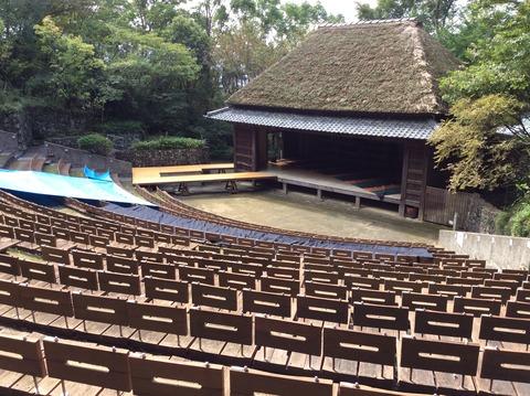 四国村 農村歌舞伎舞台