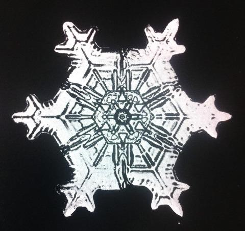 ベントレーの雪の結晶