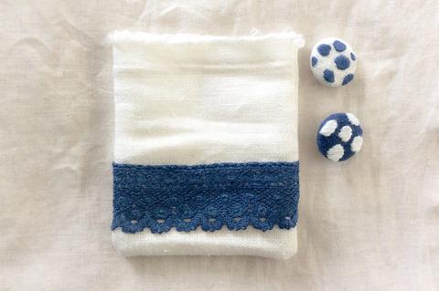 藍染手作り小物