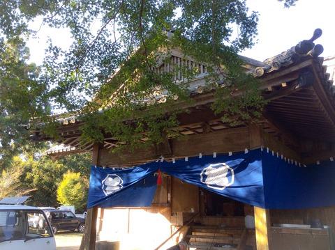 2015年秋の例祭の種穂神社