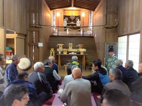 種穂神社2015年春の例祭