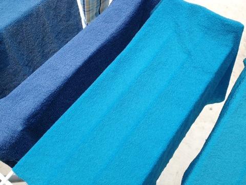 藍の生葉染め7