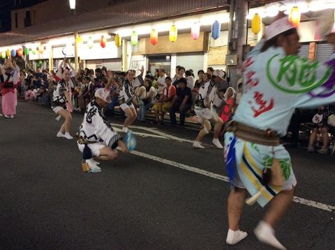 阿波踊り 男踊り