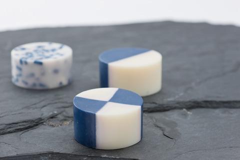 藍染め石鹸