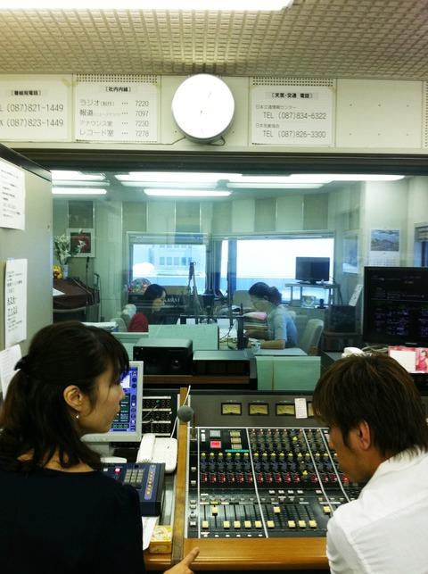 藍色工房 西日本放送ラジオスタジオ