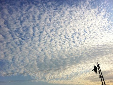 藍色工房 うろこ雲