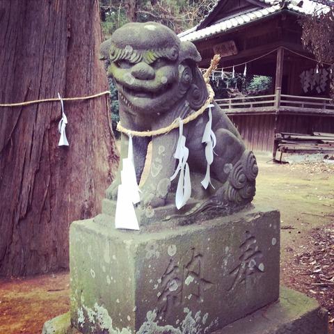 鷲宮神社の狛犬