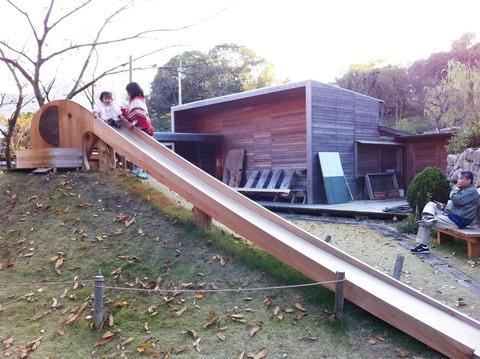 藍色工房 KITOKURAS象のすべり台