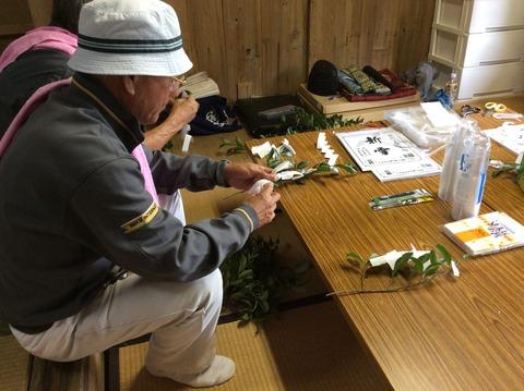 種穂神社例祭準備2