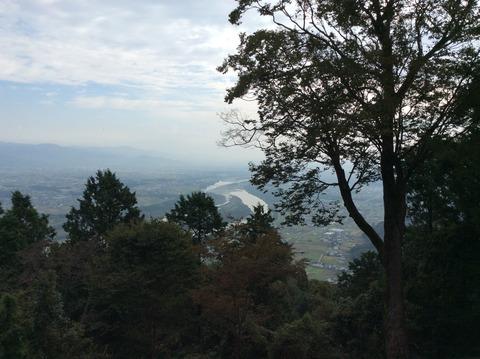 種穂神社からの眺め