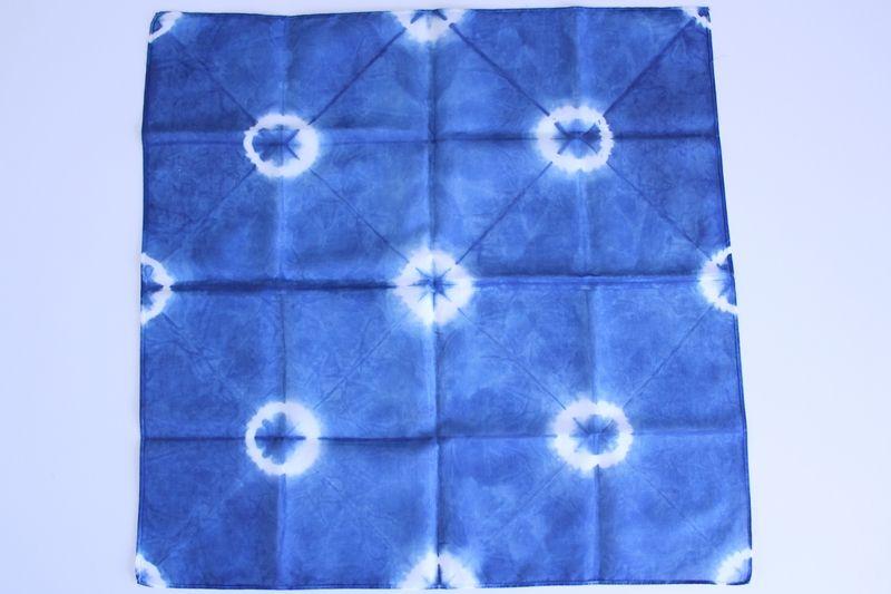 藍色工房(あいいろこうぼう) オフィシャルブログ  数量限定販売の藍染めハンカチ☆四国物産展in高松天満屋へようこそ