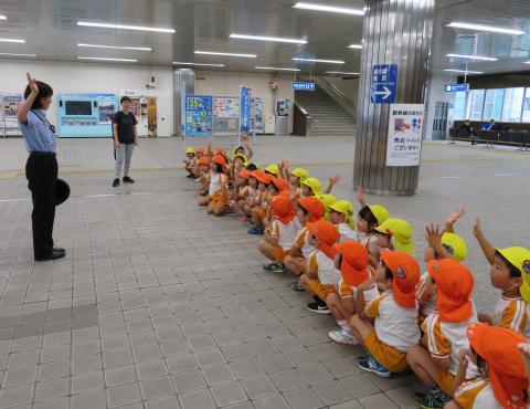 明石 保育園 新幹線