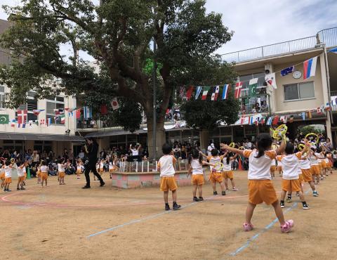 明石 保育園 運動会 音遊 (2)