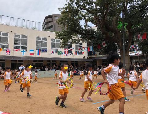 明石 保育園 運動会 音遊 (3)
