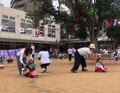 明石 保育園 運動会1歳児 (1)