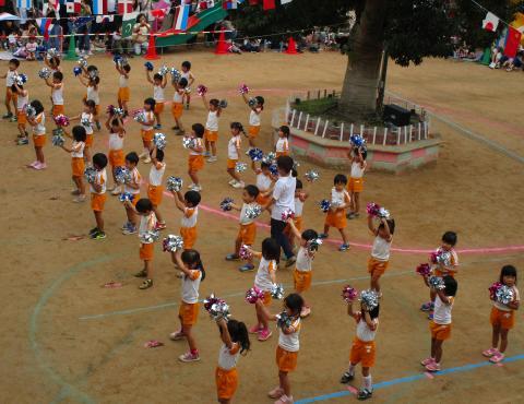 明石 運動会 4歳 (4)