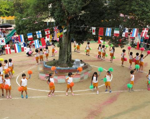 保育園 運動会 ダンス3