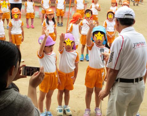 明石 保育園 運動会3