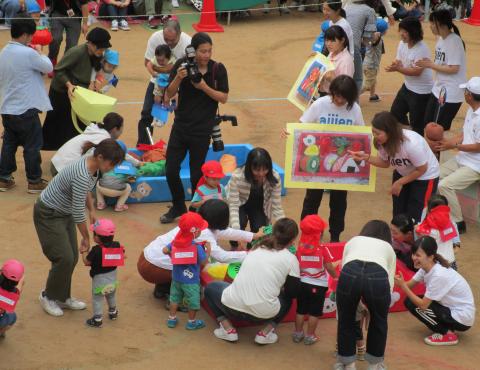 明石 保育園 分園運動会 (1)