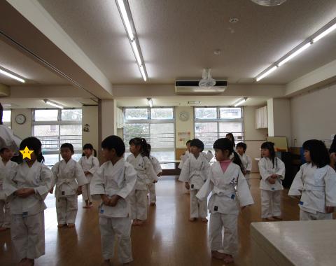 明石 保育園 少林寺拳法1
