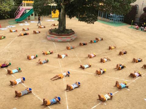 保育園 運動会 (2)