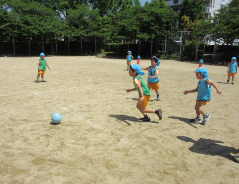 明石 保育園 サッカー