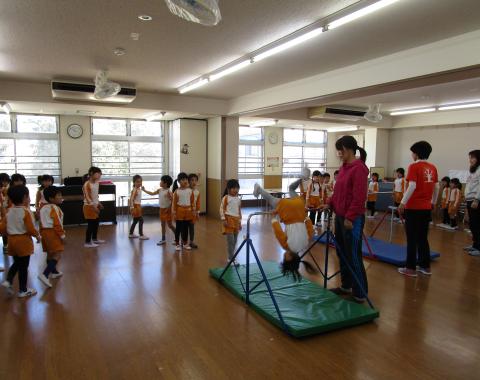 明石 保育園 体操教室1