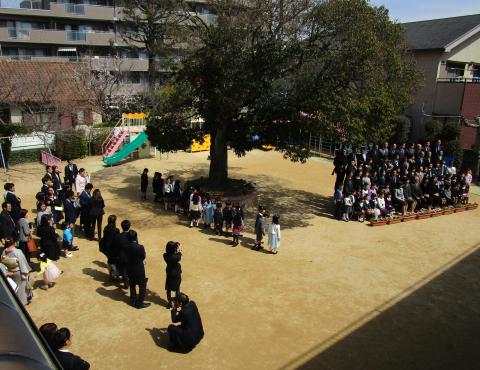 明石 保育園 卒園式3
