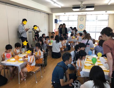 明石 保育園 参観日