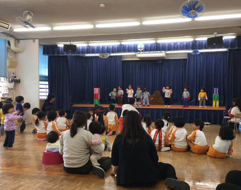 明石 保育園 お遊戯会2