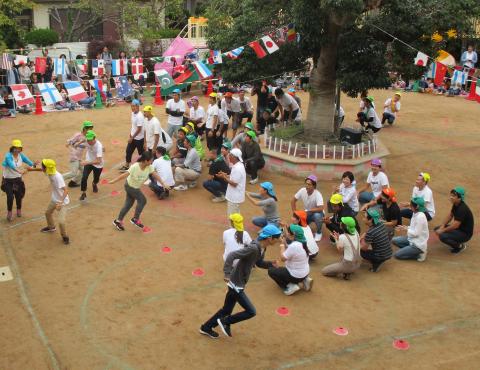 保育園運動会 保護者競技 (3)