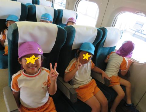 明石 保育園 新幹線3