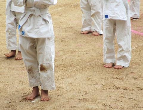 明石 保育園 少林寺拳法