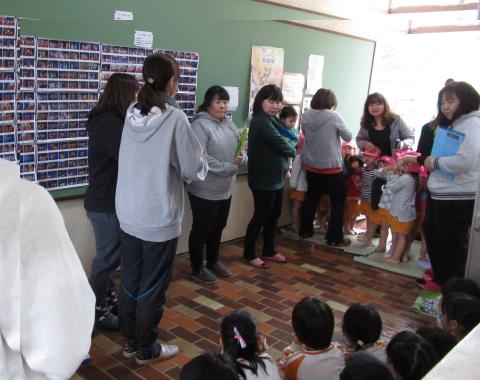 明石 保育園 避難訓練4