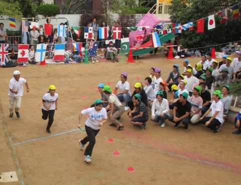 保育園運動会 保護者競技 (2)