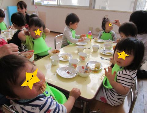 明石 保育園 1歳給食