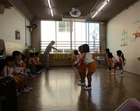 明石 保育園 練習1