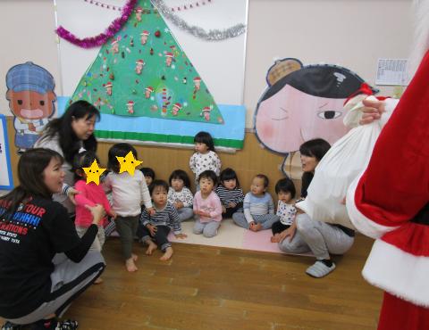 明石 保育園 クリスマス③