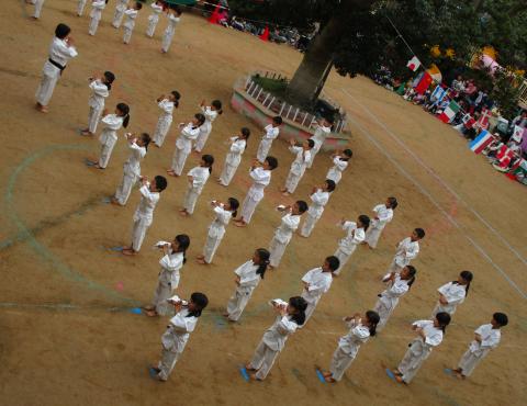 明石 保育園 少林寺 (2)