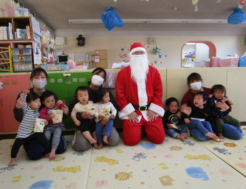 明石 保育園 クリスマス1