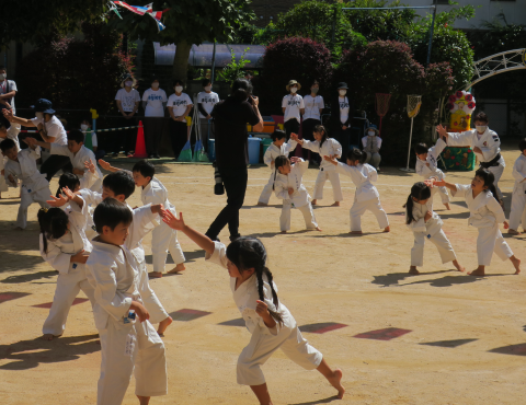 明石 保育園 拳法