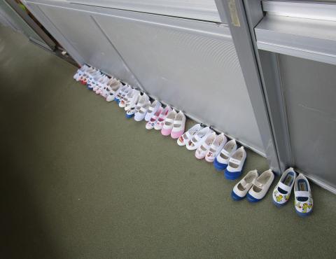 明石 保育園 上靴
