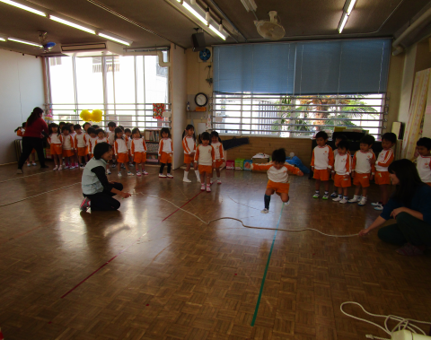 明石 保育園 体操教室3