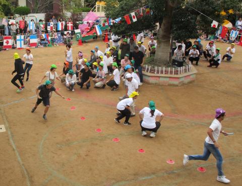 保育園運動会 保護者競技 (1)