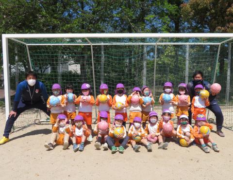 明石 保育園 サッカー1
